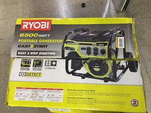 Ryobi 6500 Watt generator for Sale in Atlanta, GA