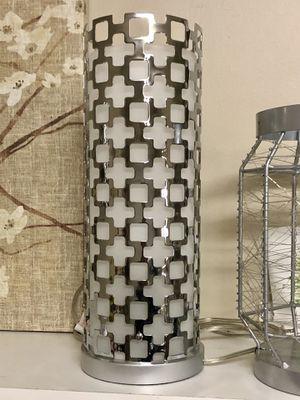 """Beautiful Silver Lamp 16"""" for Sale in Mokena, IL"""