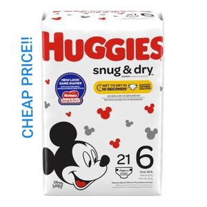 HUGGIES SIZE 1 & SIZE 6 for Sale in Houston, TX