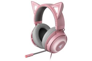 Razer Kitty Ear USB Headset with Chroma- Quartz for Sale in Tolleson, AZ