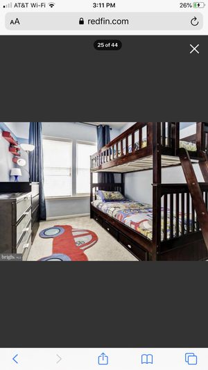 Detachable Bunk Bed for Sale in Germantown, MD