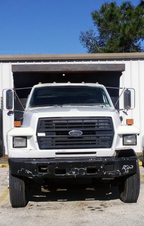 Used Jeep Wrangler For Sale Nc >> 1989 Ford F800 Dump Truck for Sale in Crystal River, FL ...