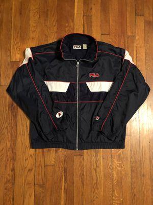 Men's vintage Fila jacket size L good condition for Sale in Washington, DC