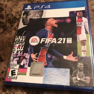 2 DAY OLD PS4 FIFA 21 for Sale in Tolleson, AZ