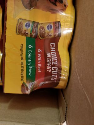Pedigree 13oz can dog food for Sale in Parkland, WA
