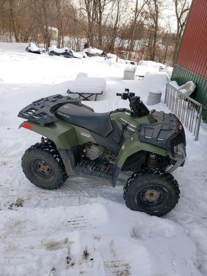 2006 Polaris Hawkeye 300 with Plow for Sale in Otsego, MN