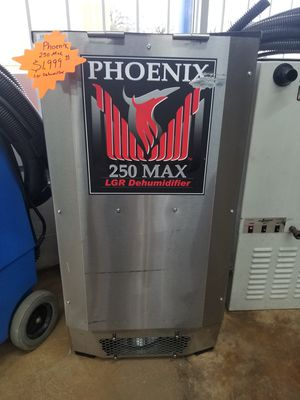 Phoenix 250 MAX LGR Dehumidifier for Sale in Irving, TX
