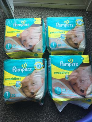 Never open diaper size 1. $15 for all. Please only serious buyers for Sale in West Valley City, UT