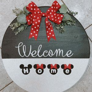 Welcome Home Minnie Sign for Sale in Plant City, FL