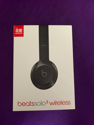 Beats solo 3 wireless BOX for Sale in Chesterfield, VA