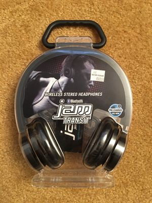 Jam Transit Wireless Stereo Head Phones, Bluetooth for Sale in Silver Spring, MD