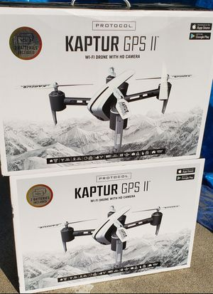 Kaptur gps II drone.. Brand new.. Sealed.. Firm price for Sale in Houston, TX