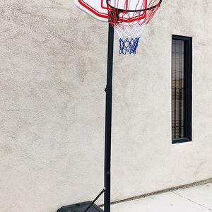 "(NEW) $50 Kids Junior Sports Basketball Hoop 28x19"" Backboard, Adjustable Rim Height 5' to 7' for Sale in South El Monte, CA"