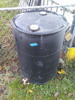 Plastic barrel for Sale in White Hall, WV