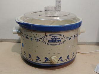 Vintage Rival Crock Pot for Sale in Franklin,  NJ