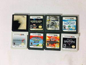 Nintendo DS 3DS Games Mario Kart Kingdom Hearts for Sale in Valrico, FL