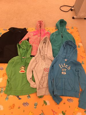 6-8 yrs old girls hoodie jackets for Sale in Fairfax, VA