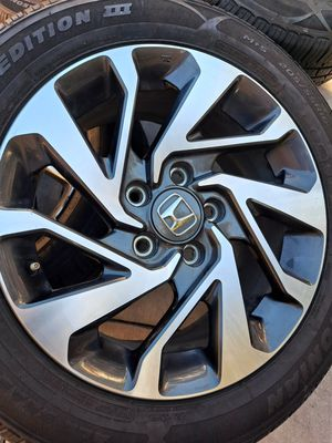 Honda OEM sport 16 inches rims with tires for Sale in Riverside, CA