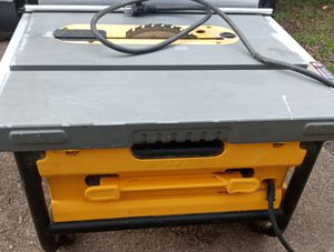 10in dewalt table saw for Sale in Greenville, SC