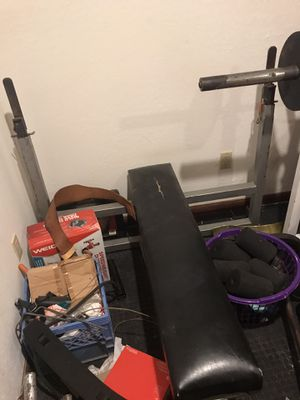 Professional weight lifting power bench for Sale in Pompano Beach, FL