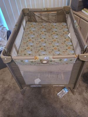 Greco pack n play with bassinet attachment for Sale in Phoenix, AZ