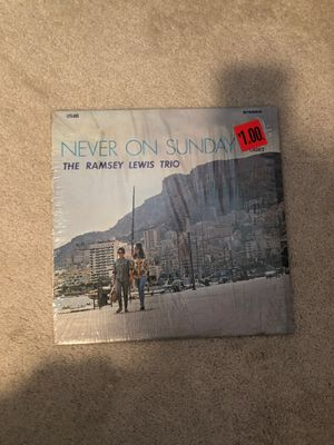 The Ramsey Lewis Trio, Never on Sunday record for Sale in Puyallup, WA