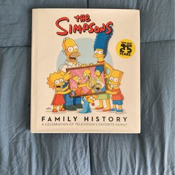 The Simpsons Family History Book for Sale in Tampa,  FL