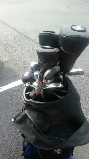 Lady shark golf clubs with gulf ball pins and golf balls for Sale in Chevy Chase, MD