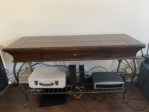 Antique tables - wood/iron - need to sale for Sale in Flower Mound, TX