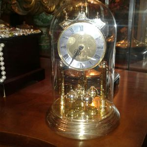 Elgin glass done clock made in germany for Sale in Columbia, SC