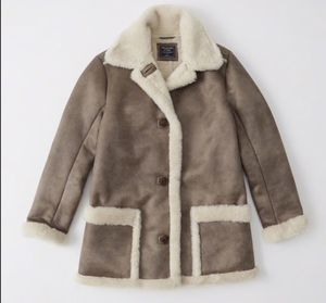 Suede parka, cozy winter coat. Size XS for women. Original Price $130. for Sale in Cleveland, OH