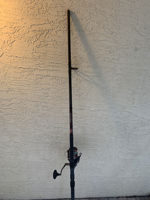 Fishing pole with Reel for Sale in Fort Lauderdale, FL