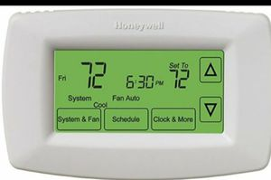 Honeywell 7-Day Touchscreen Programmable Thermostat (RTH7600D1030/E) for Sale in Chicago, IL