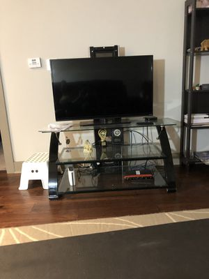 """40"""" TV with stand for Sale in Herndon, VA"""