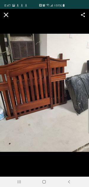 Crib into Bed for Sale in San Bernardino, CA