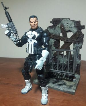 The Punisher Action Figure marvel comics legends toy for Sale in Marietta, GA