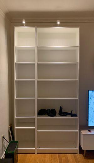 IKEA white book shelves for Sale in Seattle, WA