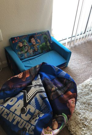 Kids couch and beanbag set for Sale in Herndon, VA