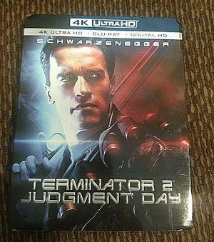 Terminator 2 Judgement Day 4k bluray blu ray for Sale in Maricopa, AZ