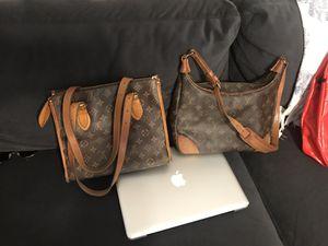 2 authentic Louis Vuitton monogram bags for Sale in Plant City, FL