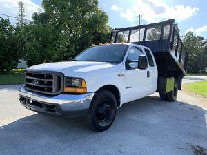 2000 Ford F-350 dump truck 7.3L DIESEL for Sale in St.Petersburg, FL