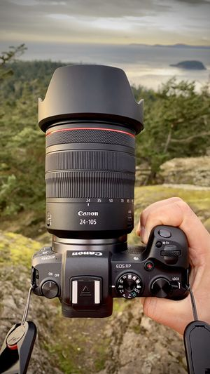Canon EOS RP + RF 24-105mm f/4L IS USM Lens for Sale in Seattle, WA