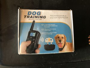 Dog training collar for Sale in Riverside, CA