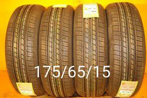 4 New tires 175/65/15 llantas nuevas for Sale in San Diego, CA