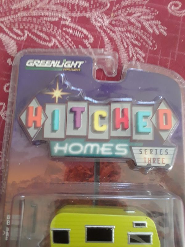 Green light hitched homes 1958 Siesta Travel Trailer