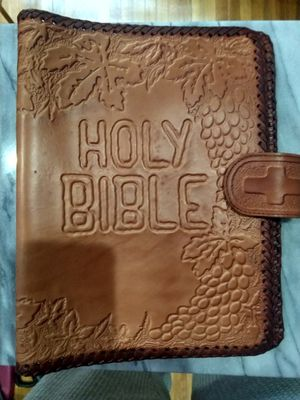 Leather case for your Bible for Sale in Queens, NY