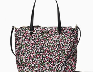 Authentic Kate Spade Floral Bag for Sale in Lovettsville,  VA