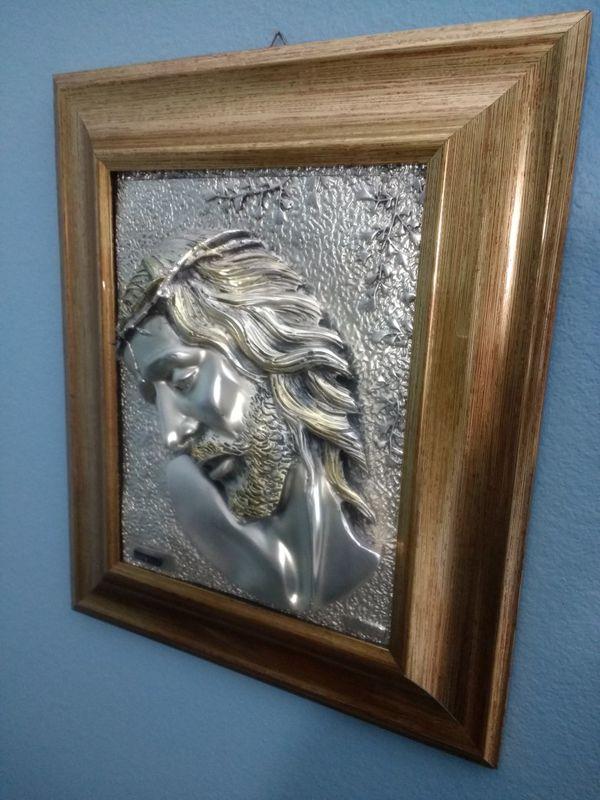 Arg Creazioni Artistiche Jesus Plaque For Sale In Clermont