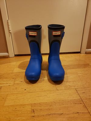 Hunter rain boots size 7 womens-new with box for Sale in Chino Hills, CA