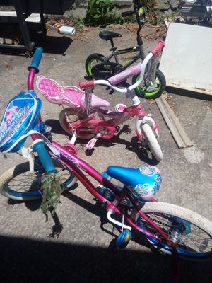 3 kid bikes for sale for Sale in Decatur, GA